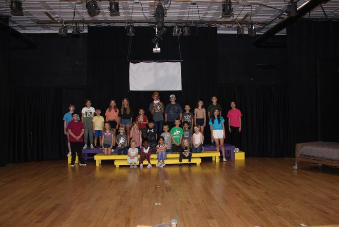 The cast for the Brass Ring Center for Performing Arts' production of Willy Wonka KIDS. Performances are set for Friday, Saturday and Sunday.