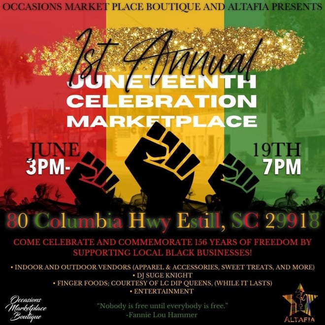 Hampton County will see its first Juneteenth Celebration this weekend.