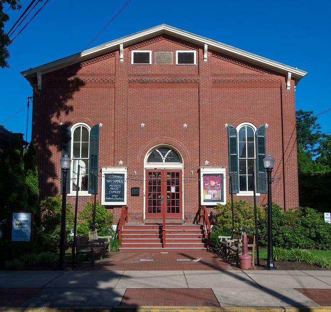 Newtown Theatre en North State Street, en Newtown Borough.
