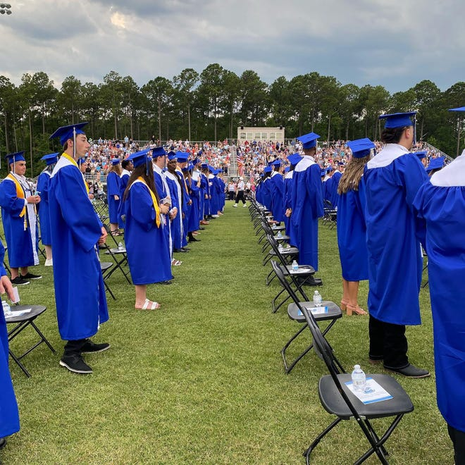 May River High School held its 2021 graduation ceremony Tuesday.