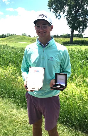 Cheboygan's PJ Maybank III finished in a tie for first place at a United States Junior Amateur qualifying event held at TPC Michigan in Dearborn on Tuesday. As a result of his finish, Maybank III qualified himself to compete at the 73rd U.S. Junior Amateur Championship, which will be played in North Carolina in July.