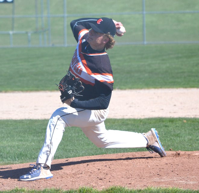 Cheboygan senior Caleb Williams was recently named the Straits Area Conference Player of the Year after a stellar baseball season. On the mound, Williams tossed three no-hitters, while also leading the team in home runs with six.