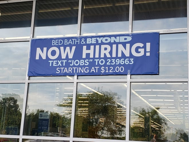A Columbus-area Bed Bath & Beyond is seeking workers. Economists and employers offera variety of explanations for the national labor shortage, but no one disputes that it's widespread.