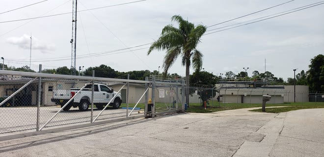 """Deltona's wastewater treatment plant on Fisher Drive. A judge has ordered the city to honor a settlement agreement with a resident whose home flooded with raw sewage in 2018 because Deltona """"improperly maintained/operated a lift station, pipelines, and/or a sewer pipe system,"""" according to the lawsuit."""