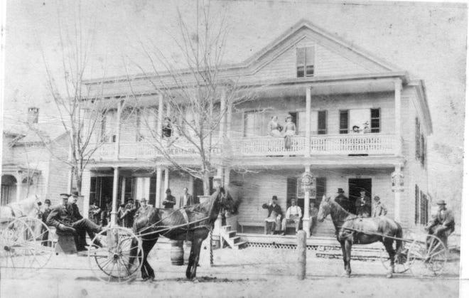 Vandermark Hotel, Milford, Pa. / Courtesy Pike County Historical Society