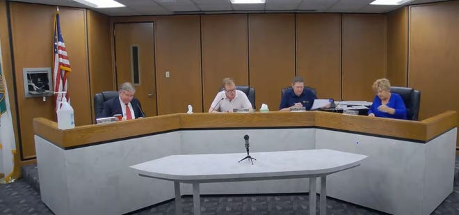 Lawrence County officials, including the Lawrence County commissioners, recently submitted proposals for funding for infrastructure projects in the county.