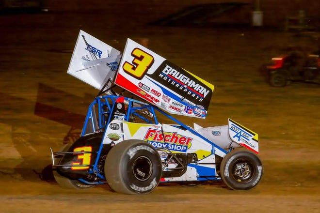 Ayrton Gennetten will compete in the World of Outlaws sprint car race Thursday at 34 Raceway.