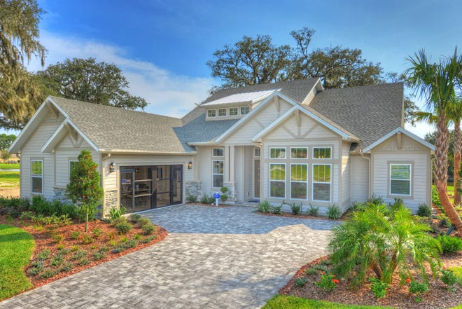 The Egret V model by ICI Homes at Tidewaterwas honoredwithBest of Show during the 2021 Parade of Homes. The four-bedroom, three-bath home offers more than 3,000 square feet of living space, and received the judges' highest score overall.