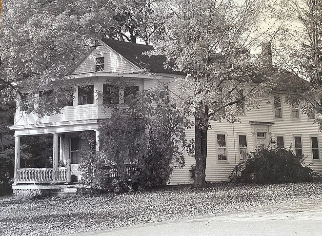 Aunt Ella's House at the Four Corners in Phillipston.