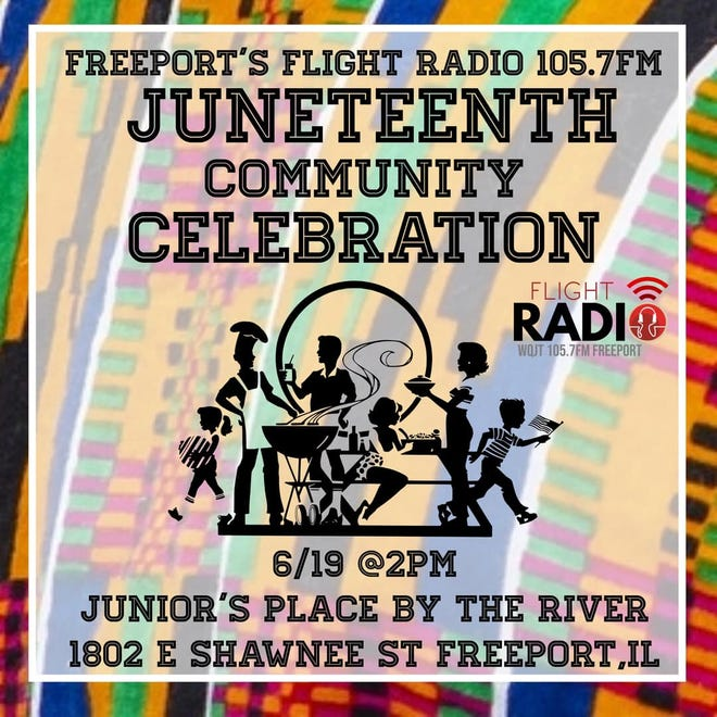 A daylong Juneteenth celebration will be held in Freeport Saturday to commemorate June 19, 1865, when a Union general rode to Galveston, Texas, to announce the Civil War was over and slaves had been freed.