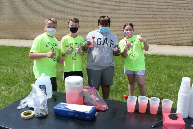 Lincoln Elementary students held a Lemonade Day last month, raising funds for charity.