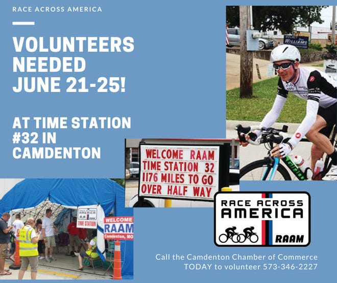 Race Across America is coming to Camdenton June 21 through the 25.