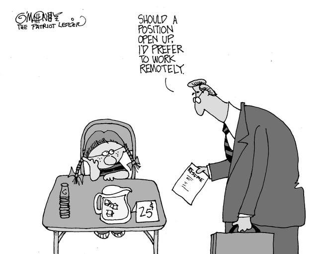 Joe O'Mahoney cartoon