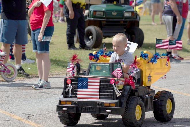 The Yukon Freedom Fest's Children's Parade will begin at 11 a.m. July 3.