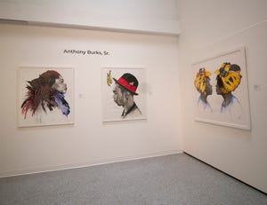 """A body of work titled """"Natural beauty and One love"""" by local artist Anthony Burks Sr., will be on view Tuesday through Aug. 27  at the Cultural County for Palm Beach County. Burks is one of the council's five Artist Innovation Fellows."""