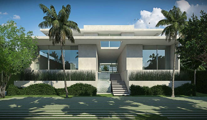 A federal appeals court has upheld a lower court's ruling in favor of the town of Palm Beach in a lawsuit filed in 2017 by resident Donald A. Burns. Burns claimed the Architectural Commission in 2016 violated his First Amendment right to free expression when the board denied his application to build this contemporary-style house at 1021 N. Ocean Blvd.