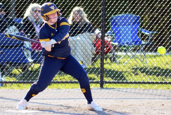 Gaylord's Taylor Moeggenberg played the hero role Tuesday by smashing a walk-off homer to lift Gaylord into the semifinals.
