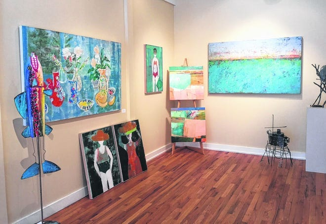 The Night of the Arts will feature artwork from many artists and galleries spread throughout downtown Harbor Springs.