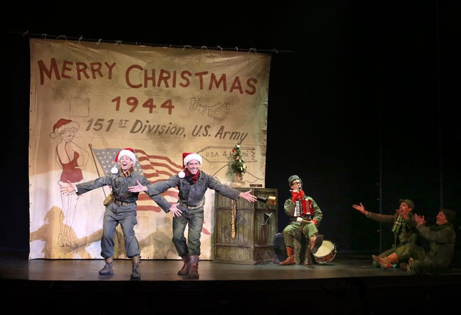 """The Ogunquit Playhouse and The Music Hall will present """"White Christmas"""" as their holiday musical this year."""