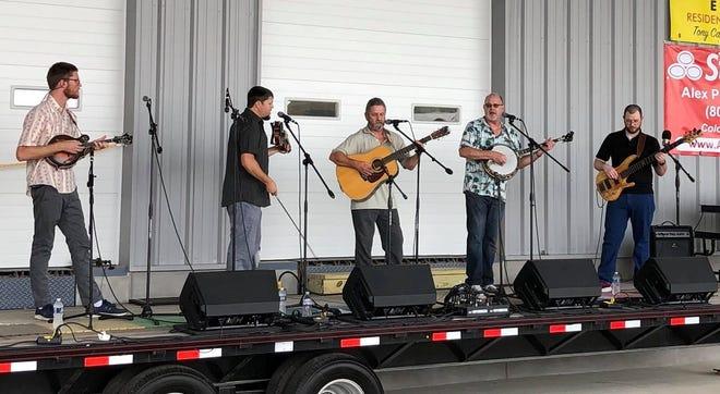 Back Forty Drive performs during the Bluegrass -n'- Wheels bluegrass festival at the Keystone Truck and Tractor Museum in Colonial Heights on Sept. 28, 2019.