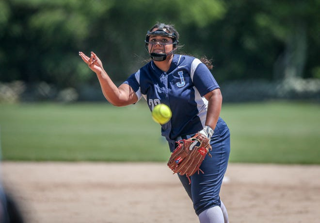 Johnston's Tiara Lopez scattered seven hits and allowed just one earned run in Wednesday's win over Prout.