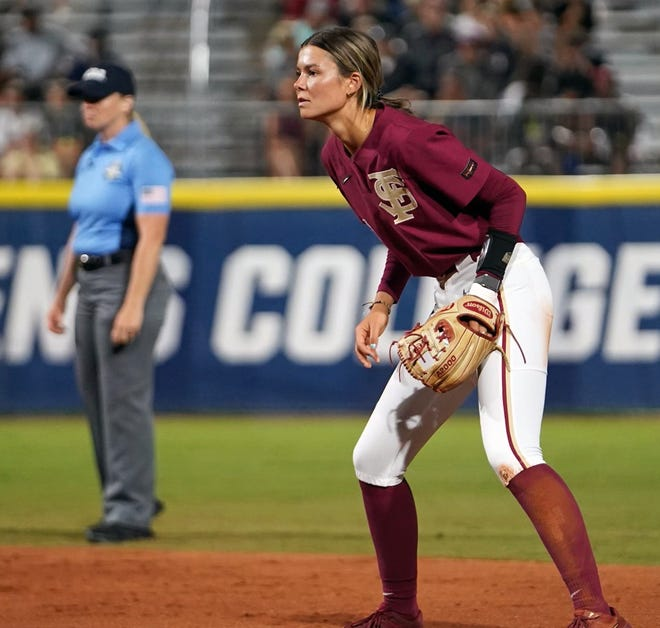 Devyn Flaherty was a mainstay at second base for the Florida State University softball team that reached the College World Series championship game.