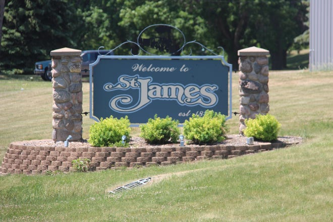 St. James City Council discussed what can possibly go in front of the new mural to keep it safe.