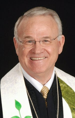 Rev. Ray Belford, pastor of Shawnee First Christian Church (Disciples of Christ)