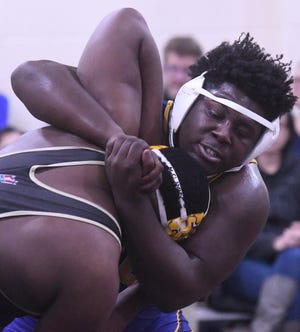 Laney's Emmanuel Bell finished in second place at the NCHSAA 4A East Regional Tuesday and qualified for next week's state championship.