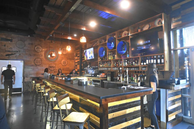 Tequila Comida and Cantina bar in Monkey Junction specializes in freshly made margaritas.