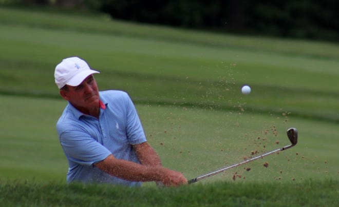 Holden's Fran Quinn shot birdie on four of his last six holes Saturday to move up leaderboard at U.S. Senior Open.