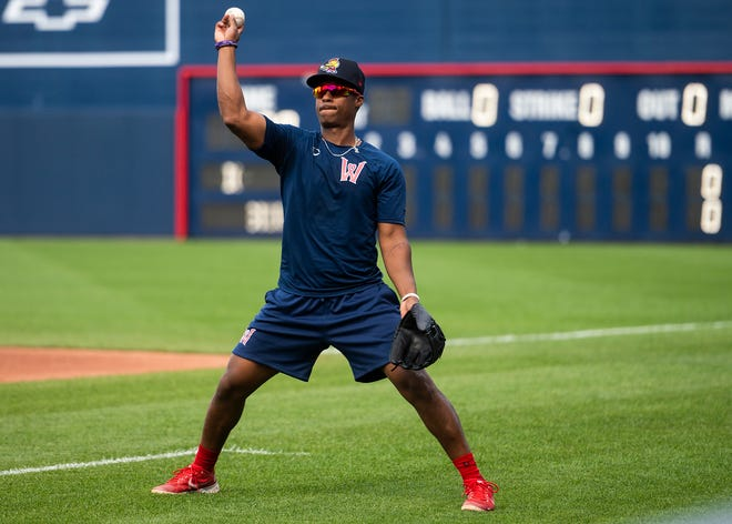 Extra work on defense appears to be paying off for Jeter Downs.