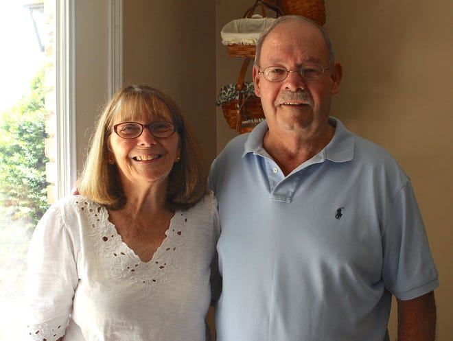 Donna and Norm Gallion of Orleans are enjoying a slower pace of life after retiring as owners of Gallion's grocery store. The couple owned the store for 45 years.