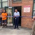Belmont celebrates renovation of Public Works facility