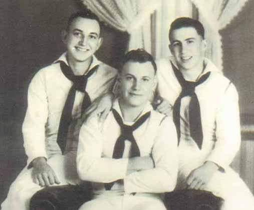 From left, Leroy, Malcolm and Randolph Barber of New London.