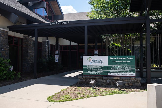 The Mountain Child Advocacy Center is located on Vanderbilt Park Drive in Asheville.