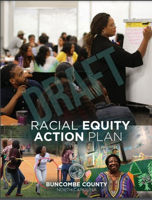 The Board of Commissioners passed Buncombe County's first racial equity plan June 15.