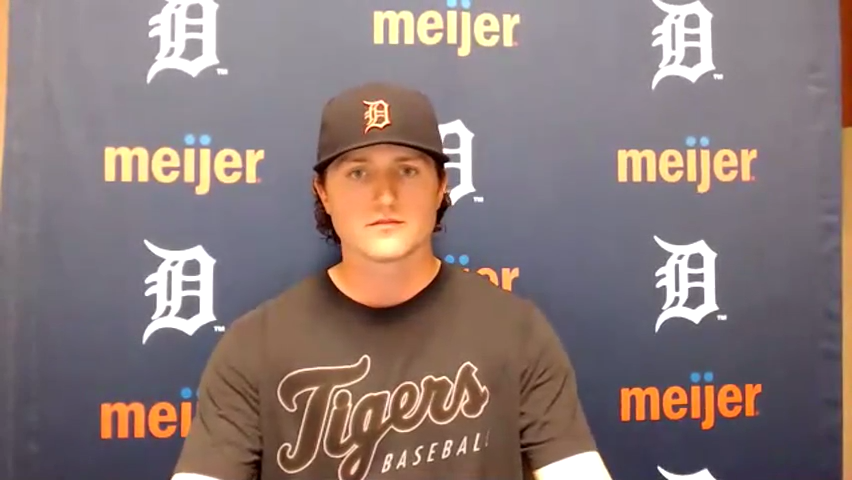 Detroit Tigers' Casey Mize frustrated with home plate umpire about glove situation
