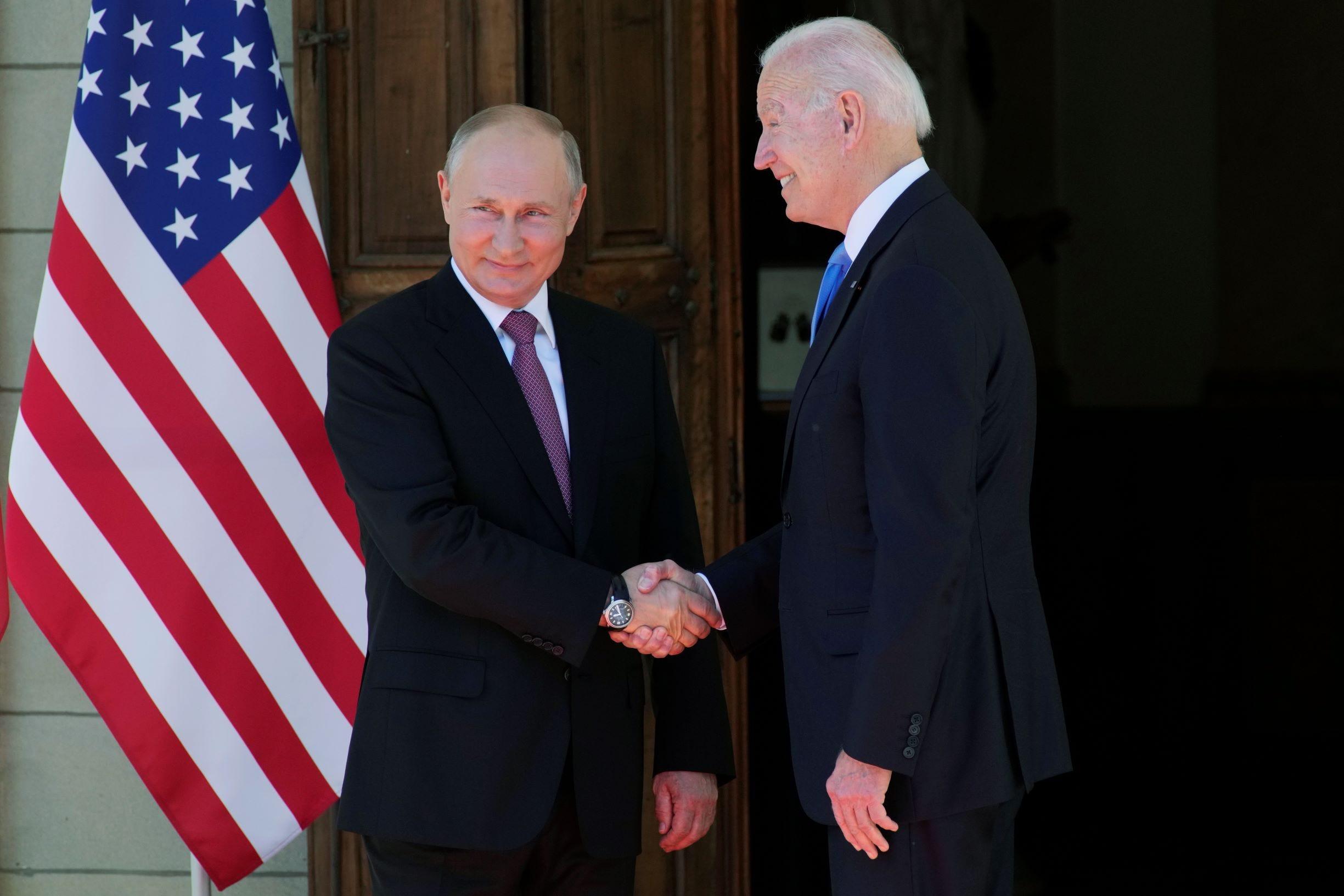 'Practical work' summit for Biden, Putin: No punches or hugs 2