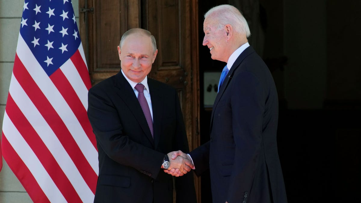 'Practical work' summit for Biden, Putin: No punches or hugs 3