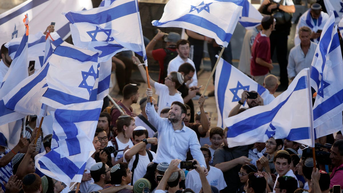 Israelis march in east Jerusalem in test for new government 3