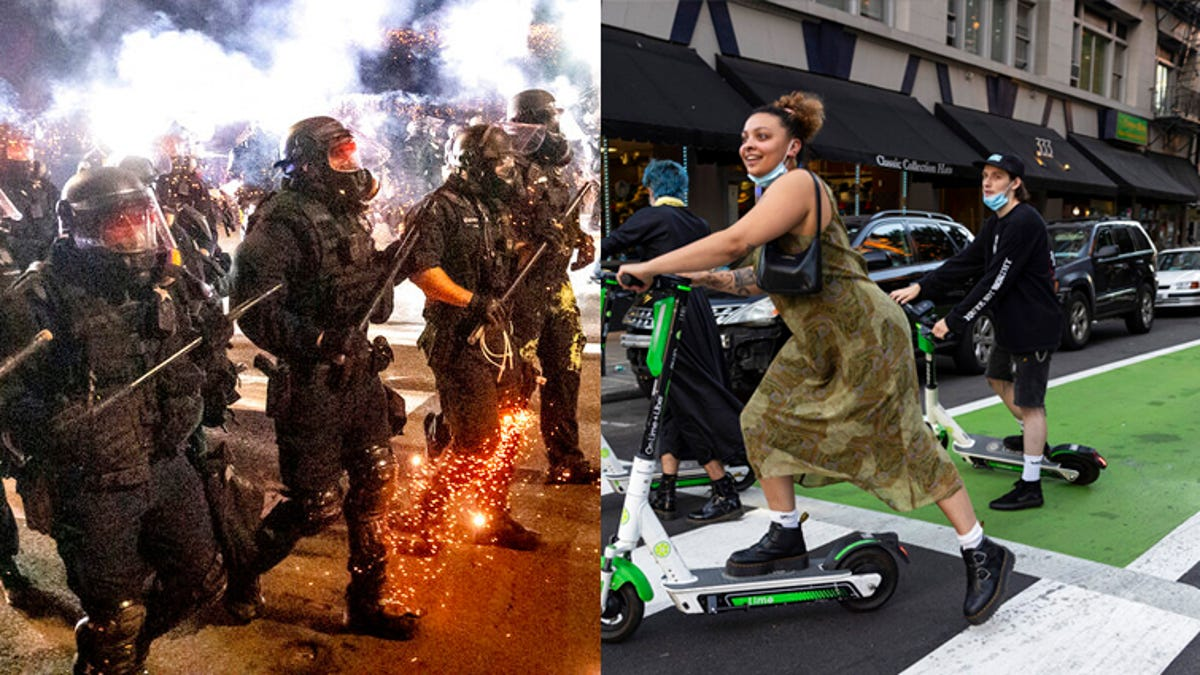 Portland, scarred by unrest and violence, tries to come back 3