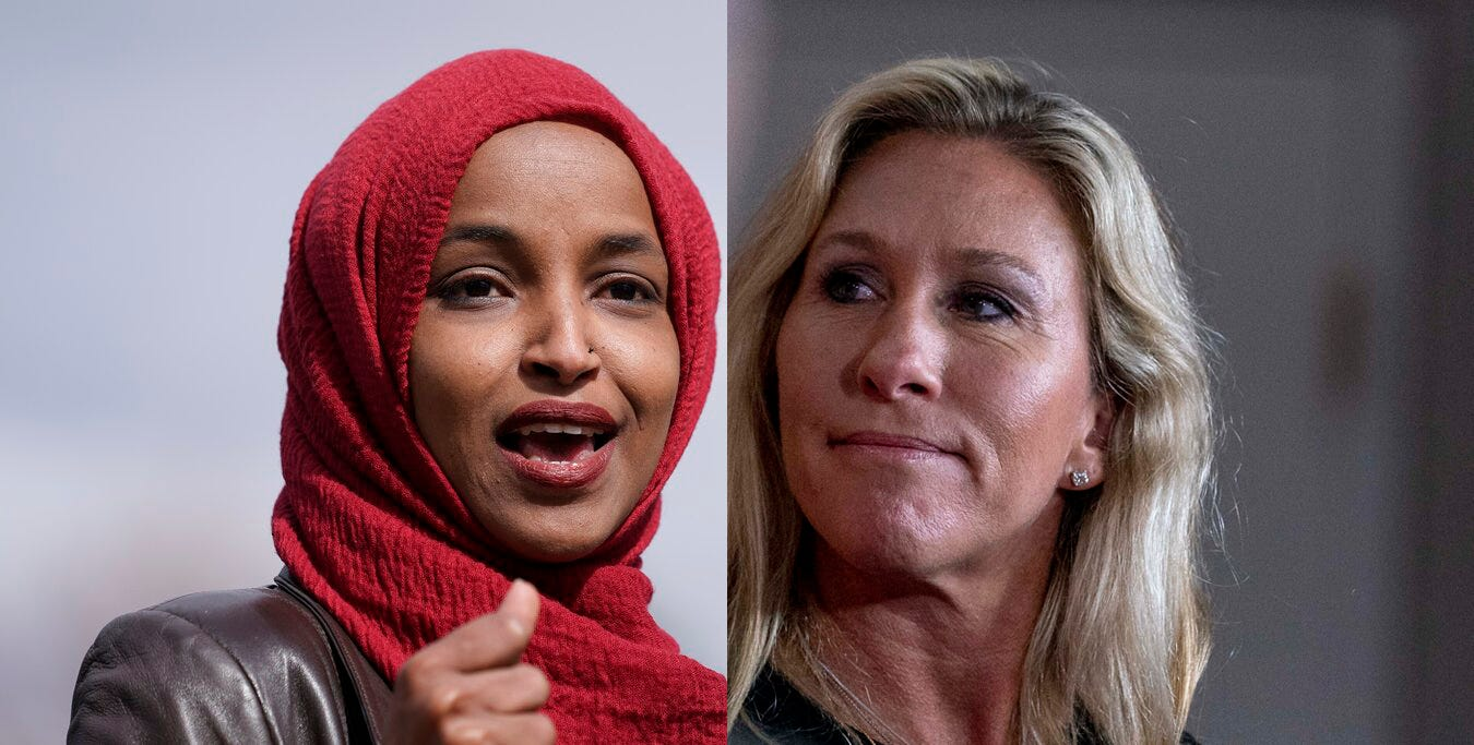 Dems, GOP edging away from fight over Reps. Greene, Omar 2