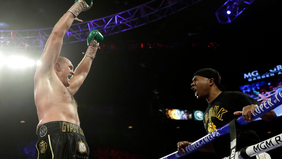Niyo: 'Gypsy King' Tyson Fury tips his crown to Detroit 1