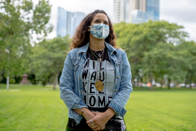 Former Milwaukee Health Commissioner Dr. Jeanette Kowalik worked with the Wisconsin Public Health Association and Milwaukee County to draft a city-wide resolution that declared racism as a public health crisis in July 2019. Kowalik is seen at Juneau Park in Milwaukee on Sept. 18, 2020.