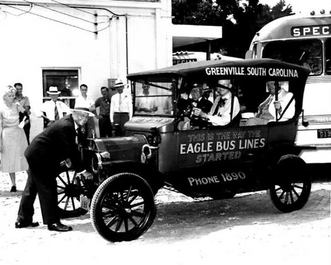 Although most Greek immigrants opened or served in cafes or lunchrooms, some, like Henry Theodore, worked to build a different business. In Theodore's case, itwas a small (later massive) bus line that  became a chartered service.