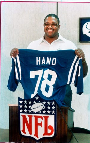 Jon Hand, Indianapolis Colts. 1986 file photo