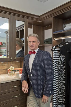 Chris McKenry is pictured in his showroom in West Knoxville.