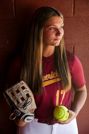 McCutcheon's Heather Johnson is the 2021 Journal & Courier Big School Softball Player of the Year.