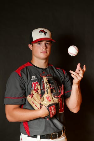 Lafayette Jeff's Caleb Koeppen is the 2021 Journal & Courier Big School Baseball Player of the Year.